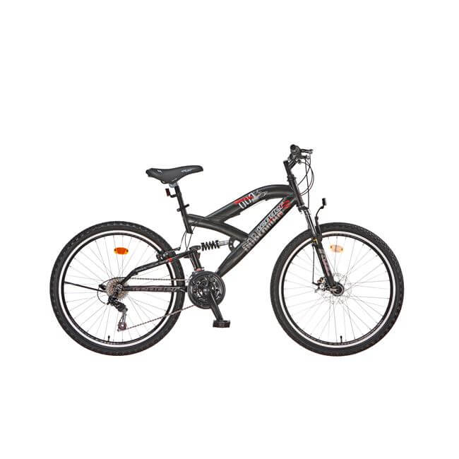 "ΠΟΔΗΛΑΤΟ LEADER DOBERMAN NEW 26"" FRONT DISC 18 ΤΑΧΥΤΗΤΕΣ SHIMANO"