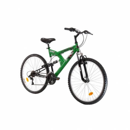 "ΠΟΔΗΛΑΤΟ LEADER PANTERA 26"" FULL SUSPENSION SHIMANO 18 ΤΑΧΥΤΗΤΕΣ"